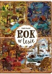 Okładka książki Rok w lesie Emilia Dziubak