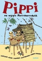 Okładka książki Pippi na wyspie Kurrekurredutt Astrid Lindgren