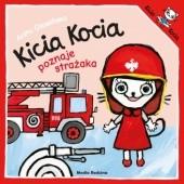 Okładka książki Kicia Kocia poznaje strażaka Anita Głowińska