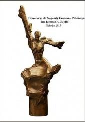 Okładka książki Opowiadania nominowane do Nagrody Zajdla za rok 2014 Anna Kańtoch,Stefan Darda,Dorota Dziedzic-Chojnacka,Marta Krajewska,Krystyna Chodorowska