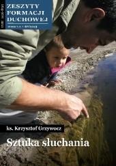 Okładka książki Sztuka słuchania Krzysztof Grzywocz