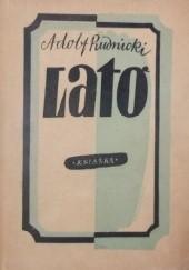 Okładka książki Lato Adolf Rudnicki