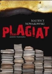 Okładka książki Plagiat Maurycy Nowakowski