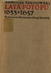 Okładka książki Lata potopu 1655-1657 Wespazjan Kochowski