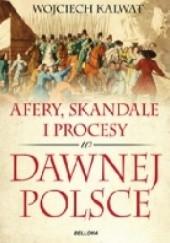 Okładka książki Afery, skandale i procesy w dawnej Polsce Wojciech Kalwat