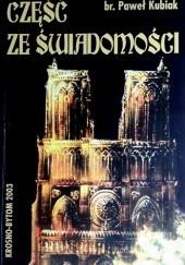 Okładka książki Część ze świadomości Paweł Kubiak