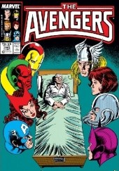 Okładka książki Avengers #280 Bob Harras,Bob Hall