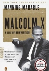 Okładka książki Malcolm X Manning Marable