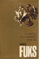 Okładka książki Wariacje na najniższej strunie Ladislav Fuks