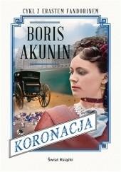 Okładka książki Koronacja Boris Akunin