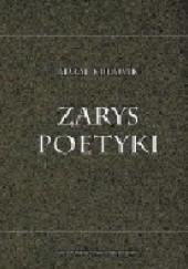 Okładka książki Zarys poetyki Adam Kulawik