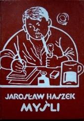 Okładka książki Myśli Jaroslav Hašek