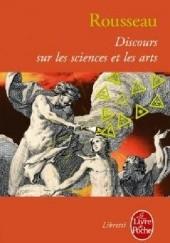 Okładka książki Discours sur les sciences et les arts Jean Jacques Rousseau