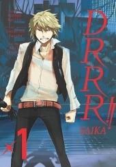 Okładka książki Drrr!! Saika 1 Ryohgo Narita,Akiyo Satorigi