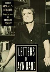 Okładka książki The letters of Ayn Rand Ayn Rand