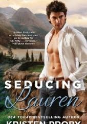 Okładka książki Seducing Lauren Kristen Proby