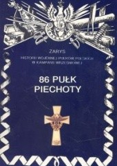 Okładka książki 86 pułk piechoty. Wojciech Markert