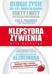 Okładka książki Klepsydra żywienia Kris Verburgh