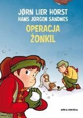 Okładka książki Operacja Żonkil Jørn Lier Horst,Hans Jørgen Sandnes