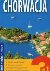 Okładka książki Chorwacja 3w1: przewodnik+atlas+mapa