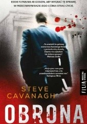 Okładka książki Obrona Steve Cavanagh