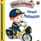 Okładka książki Mały chłopiec. Rower Mateusza Émilie Beaumont,Nathalie Bélineau,Alexis Nesme