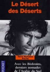 Okładka książki Le Désert des Déserts