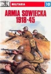 Okładka książki Armia sowiecka 1918-1945