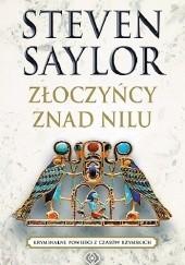 Okładka książki Złoczyńcy znad Nilu Steven Saylor
