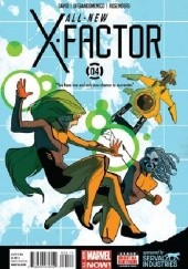 Okładka książki All-New X-Factor Vol 1 #4 Peter David,Carmine di Giandomenico