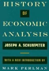 Okładka książki History of Economic Analysis