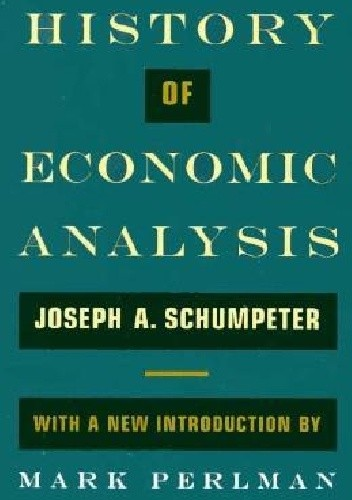 Okładka książki History of Economic Analysis Joseph A. Schumpeter