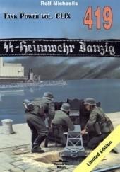 Okładka książki SS-Heimwehr Danzig Rolf Michaelis