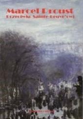 Okładka książki Przeciwko Sainte-Beuve'owi Marcel Proust