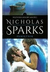 Okładka książki Pamiętnik Nicholas Sparks