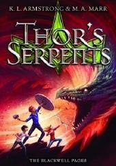 Okładka książki Thors Serpents Kelley Armstrong,Melissa Marr