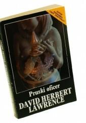 Okładka książki Pruski oficer David Herbert Lawrence