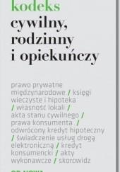 Okładka książki Kodeks cywilny, rodzinny i opiekuńczy Agnieszka Kaszok