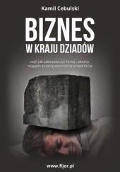 Okładka książki Biznes w kraju dziadów, czyli jak zabezpieczyć firmę i własny majątek przed pazernością urzędników Kamil Cebulski