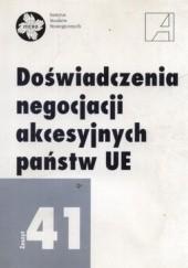 Okładka książki Doświadczenia negocjacji akcesyjnych państw UE. Zeszyt 41 Stanisław Miklaszewski