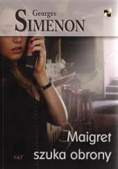 Okładka książki Maigret szuka obrony Georges Simenon