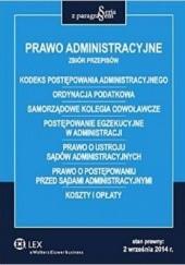 Okładka książki Prawo administracyjne. Zbiór przepisów Roman Rudnik