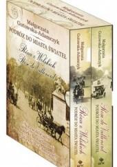 Okładka książki Podróż do miasta świateł. Rose de Vallenrod + Podróż do miasta świateł. Róża z Wolskich (komplet) Małgorzata Gutowska-Adamczyk