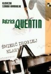 Okładka książki Śmierć drogiej Klary Patrick Quentin