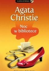 Okładka książki Noc w bibliotece Agatha Christie