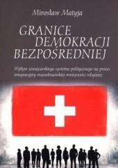Okładka książki Granice Demokracji Bezpośredniej Mirosław Matyja