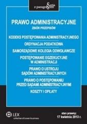 Okładka książki Prawo administracyjne Roman Rudnik