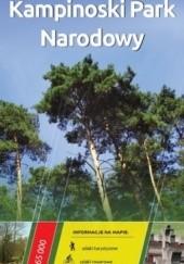 Okładka książki Kampinowski Park Narodowy. Mapa turystyczna. 1 : 65 000. Europilot