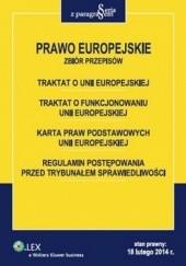 Okładka książki Prawo Europejskie. Zbiór przepisów Roman Rudnik