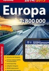Okładka książki Europa. Atlas samochodowy 1:800 000. ExpressMap praca zbiorowa